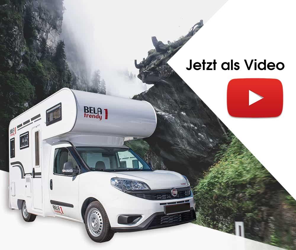 Reisemobil BELA trendy auf YouTube