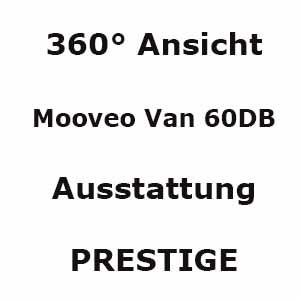 Mooveo VAN-60DB 360°-Ansicht