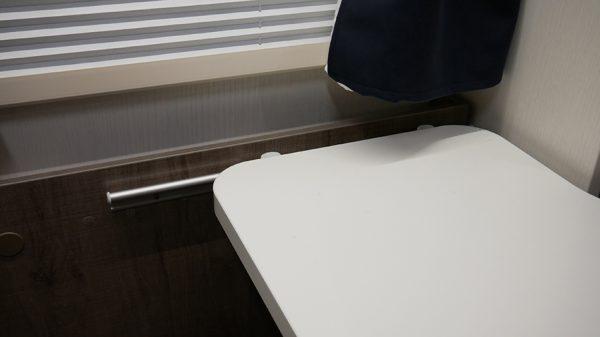 Wohnmobil Mooveo TEI-60FB Tisch verschiebbar