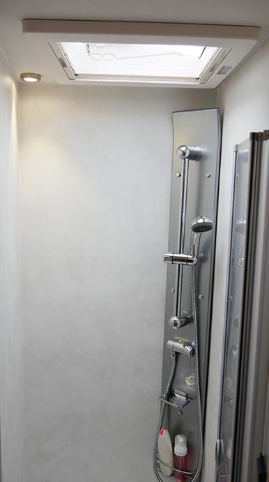 Wohnmobil kaufen neu Mooveo TEI-72EBH Ansicht Dusche