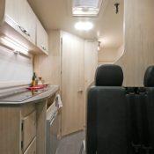 Alkoven Wohnmobil BELA trendy 3 Wohnbereich