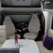 Wohnmobil 71FBH Pilotsitze-Ansicht