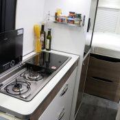 Kastenwagen Mooveo Van 63DBL - geräumige Küche