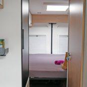Wohnmobil kaufen neu Van-63DBL Ansicht Bett 01
