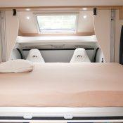 Wohnmobil kaufen neu Mooveo TEI 70DH Ansicht Hubbett