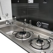 Kastenwagen 60EB 2021 Küchenzeile